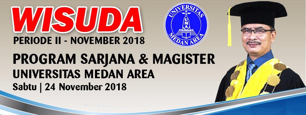 WISUDA PERIODE II - NOVEMBER 2018